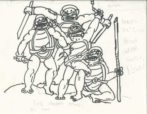 Turtles inked